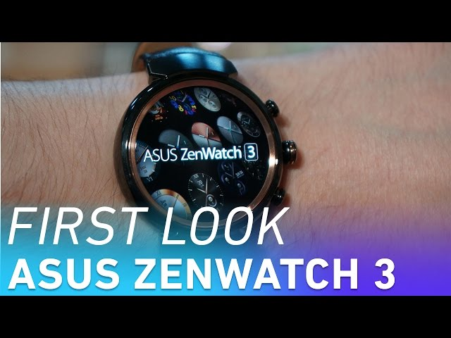 Spec comparability: ZenWatch 3 vs. Huawei Watch vs. LG Urbane