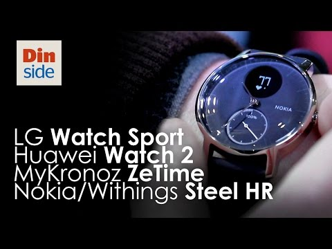 Compare LG G Watch R W110 vs. Huawei Watch 2 Classic vs. LG Watch Style