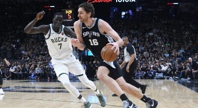 San Antonio Spurs Vs Milwaukee Bucks Odds & Matchup Stats